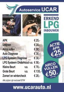 Autoservice Ucar Haarlem Prijzen & Aanbiedingen