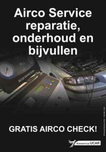 Autoservice Ucar - airco onderhouden bijvullen in Haarlem